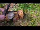 Походный нож 95х18 гардой рубит гвоздь