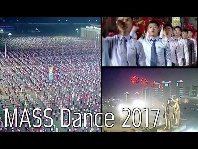 MASS Dance to celebrate 105th Birthday of North Korean President Kim Il Sung