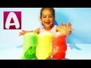Как сделать ИЗВЕРЖЕНИЕ ВУЛКАНА ИЗ ЦВЕТНОЙ ПЕНЫ Опыты для детей #Алиса делает мно...