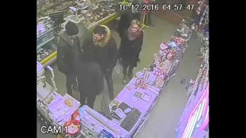 Fost fotbalist, snopit in bataie intr-un magazin din Sibiu