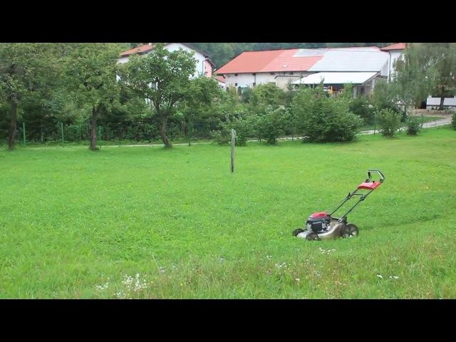 Лень двигатель прогресса Как косить газон не напрягаясь