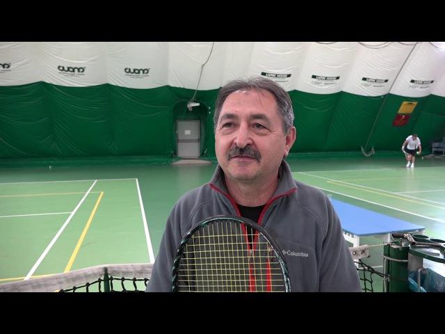 SportUs.Pro Репортаж с первенства области по теннису среди ветеранов