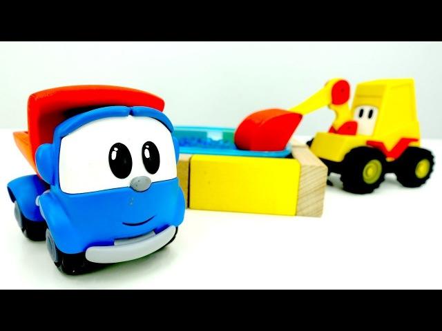 Video e giochi per bambini con cars-Leo, Max, Lifty costruiscono una piscina-Nuovi episodi italiano