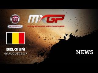 NEWS Highlights - FIAT Professional MXGP of Belgium 2017