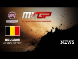 NEWS Highlights - FIAT Professional MXGP of Belgium 2017