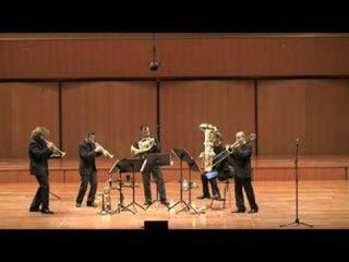 Gomalan Brass Quintet - Schindler's list live in Rome