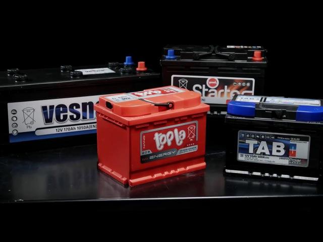 Производство аккумуляторов TAB (ТАБ) и Topla (Топла) на заводе в Словении