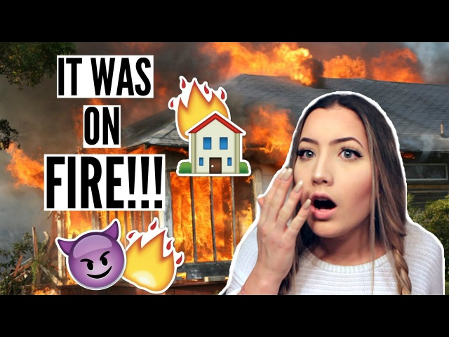 I SET MY FRIEND'S HOUSE ON FIRE   Storytime