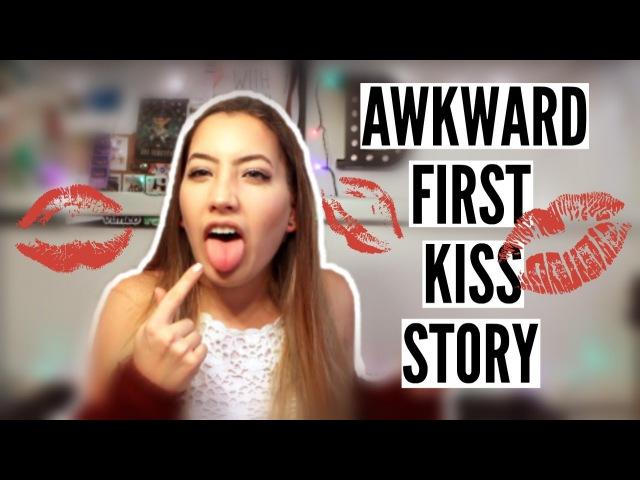 MOST AWKWARD FIRST KISS STORY