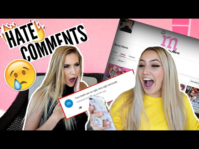 READING MY BEST FRIEND'S HATE COMMENTS TO HER FACE