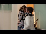 Modern Family - Haley and Andy's Passionate Kiss