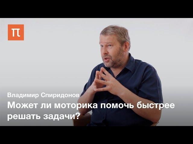 Воплощенное познание в решении задач — Владимир Спиридонов