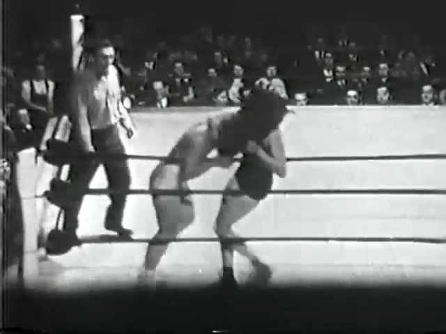 My1 Womens Wrestling Mae Weston vs Mildred Burke 1950s