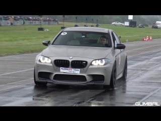BMW M5 F10 vs Audi RS6 Avant vs Nissan GT-R R35