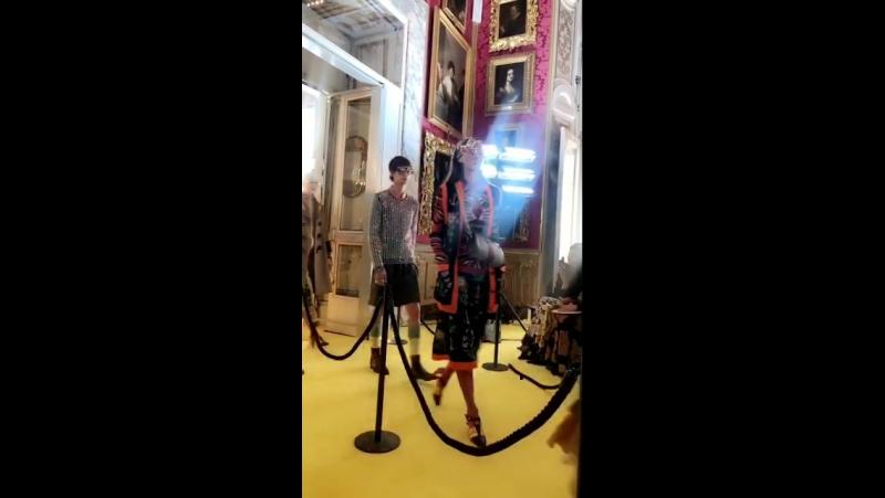 29.05.2017 • Gucci Cruise 2018 | Дворец Palatine Gallery of Pitti Palace во Флоренции, Италия