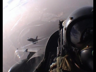 Полёт истребителей dassault mirage f1 над чадом