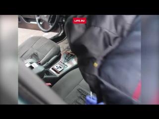 Водитель БМВ с пистолетом прикинулся пассажиром