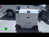 Роботы начали доставку еды в Сан-Франциско