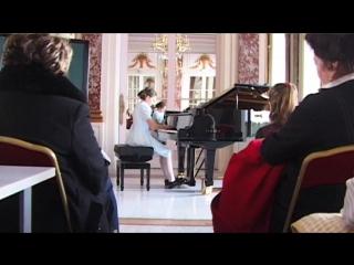 Liouba joue Tchaikovski et Prokofiev au concours Scriabine 2017 (Paris)