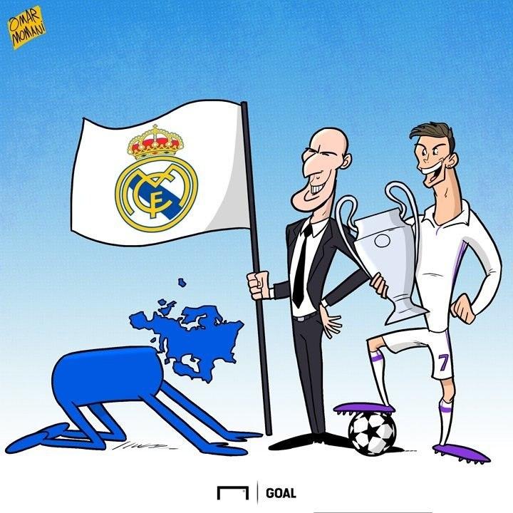 Европа снова поклоняется Реалу