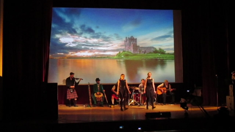 Saoirse на концерте Samains bread в День святого Патрика 17. 03. 2017