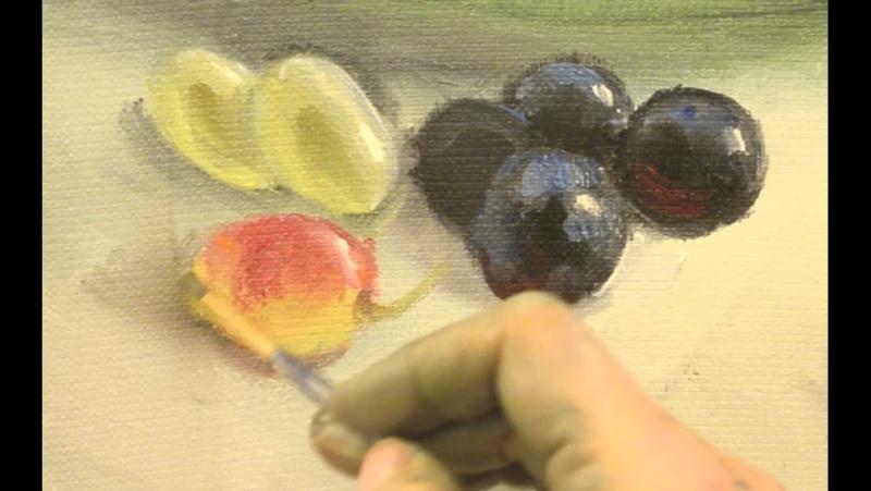 Красный виноград. Ольга Базанова