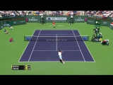 Roger Federer v. Tomas Berdych - Indian Wells 2015 QF Highlights HD