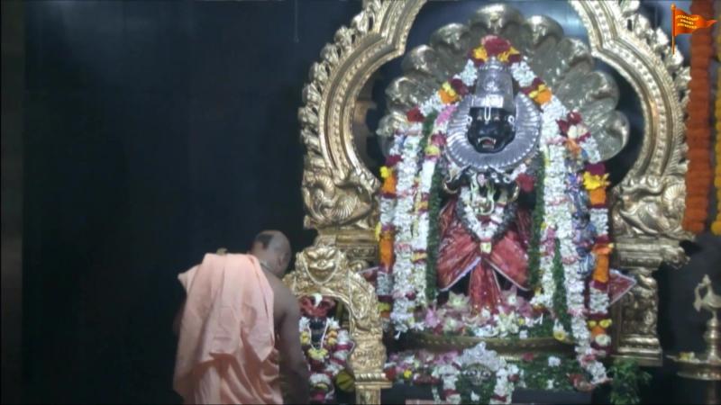 H.H.Jayapataka Swami Maharaja 2015 Mayapur 66th Vyasa Puja Nrsimhadeva Prayers.