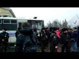 Задержание на митинге 26 марта в Петрозаводске