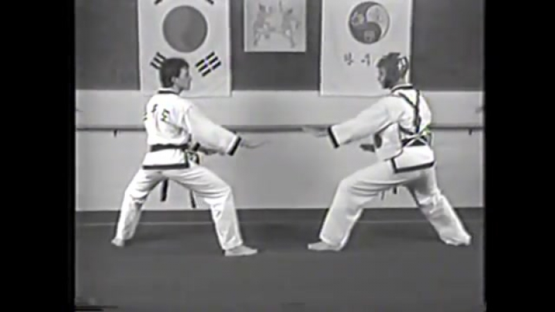 Korean Martial Arts Old Video - Hanmudo (Dr. He-Young Kimm, Hapkido, Taekwondo)
