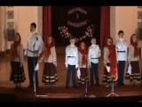 1 отделение Фрагмент 2 Программа  юбилейного концерта в честь 5-летия детского ансамбля народной и казачьей песни СЛОБОДКА