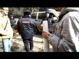 Мое задержание в Кургане на митинге 26 марта 2017