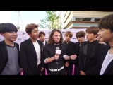 170525 BTS Interview @ BBMAs Magenta Carpet