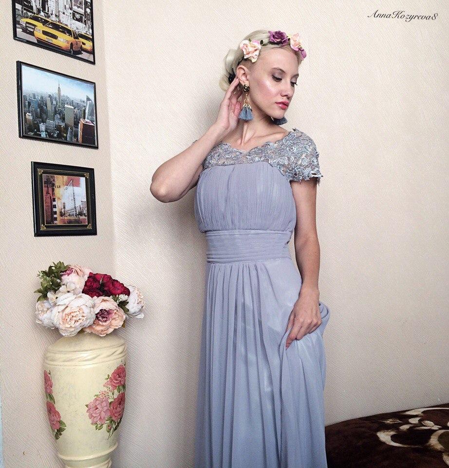 Шикарное вечернее платье из магазина DressV