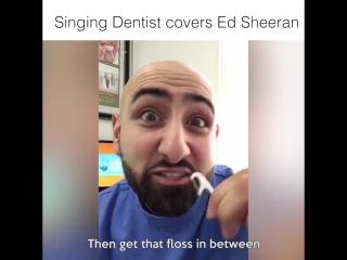 Кавер стоматолога на песню