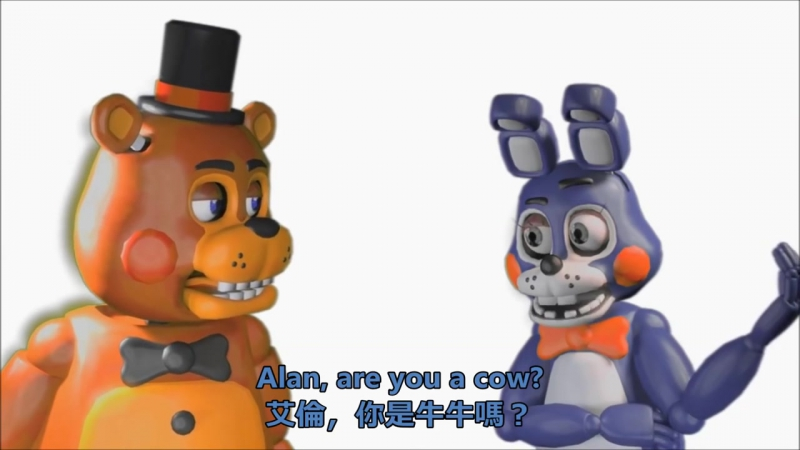 【Five Nights at Freddys動畫】Its muffin time! 馬芬時間! 中文翻譯