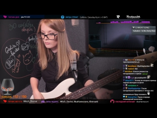 Natalie_Moore-Sabaton – In The Army Now( bass cover)