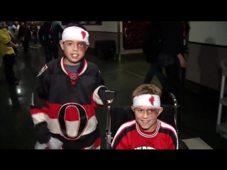 Nhl hockey players  fans show off halloween costumes