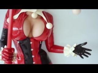 Hot Geek 16+ id 5 (теги: tits, Харли Квинн, DC, Harley Quinn, sexy, hot, сиськи, косплей, секси)