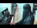 Burka Pianist Amazes Passengers at The Airport!