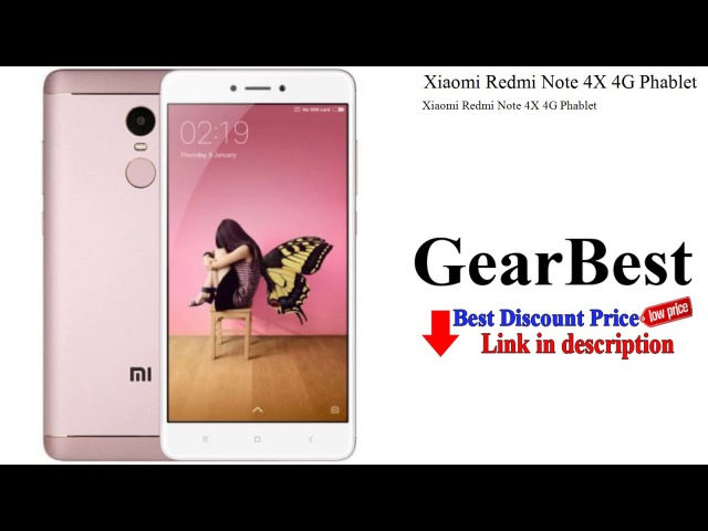 Xiaomi Redmi Note 4X 4G Phablet   Gearbest review