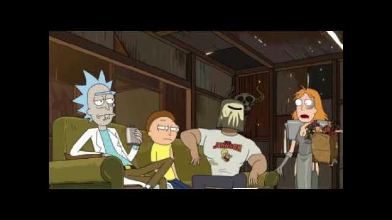 Рик и Морти. 3 сезон 2 серия. Рикманс камнем.