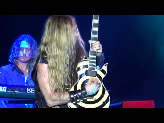 Ozzy Osbourne with Zakk Wylde Mr Crowley 4KHD Video Rock USA pit