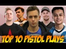 CSGO | TOP 10 PISTOL ACES (ft. m0E, Stewie2K, znajder, XANTARES more)