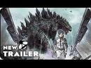 GODZILLA MONSTER PLANET Teaser Trailer 2017 Japanese Anime Movie