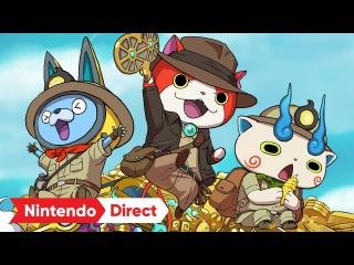 妖怪ウォッチバスターズ2 秘宝伝説バンバラヤー [Nintendo Direct 2017.9.14]