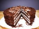 Шоколадный Торт на Кефире ЧЁРНЫЙ ПРИНЦ Нежный и Сочный Chocolate cake