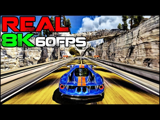 Trackmania 2 | The REAL 8K 60Fps Gameplay (4320p60) Insane Graphics