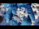 SHINY 3D STAR out of recycled cardstock aluminum foil Объемная звезда