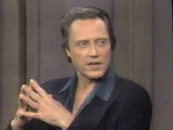 Letterman asks Christopher Walken if he's nuts (1995)